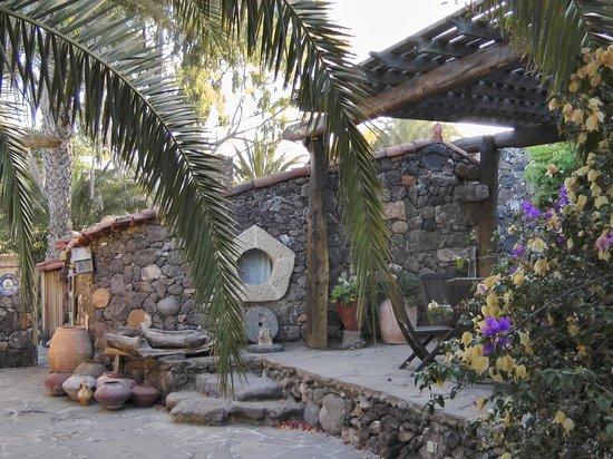 Hacienda Cristoforo : Casa yin-yan patio