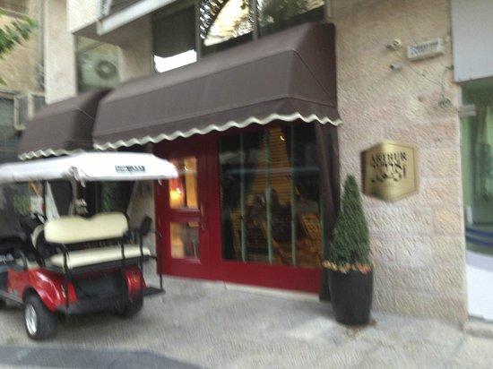 Arthur Hotel Jerusalem - an Atlas Boutique Hotel: hotel exterior