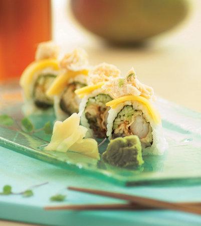 M Grille: Mango roll