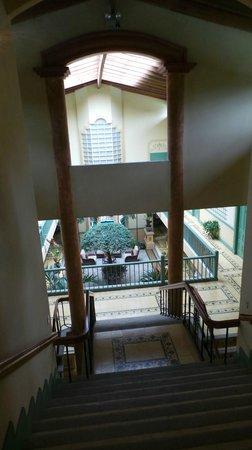 Hotel Casa Turire: View vanaf voordeur van de juniorsuite