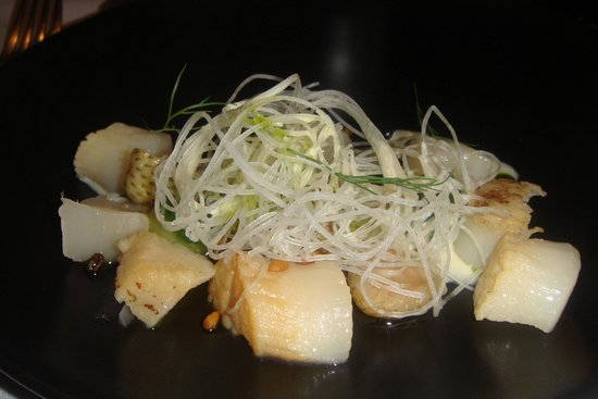 Restaurant Koefoed : Main - sea scallops
