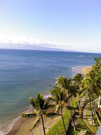 Kahana Beach Resort: view from our room