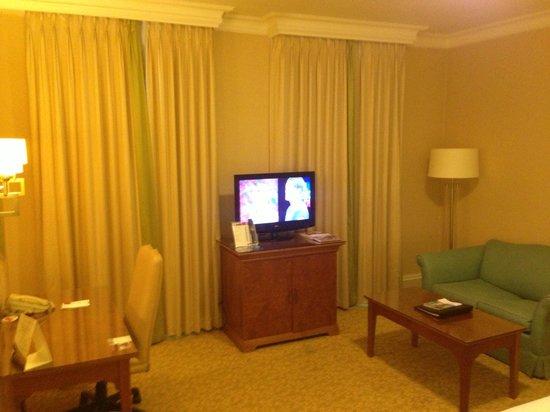 Birmingham Marriott Hotel: living area