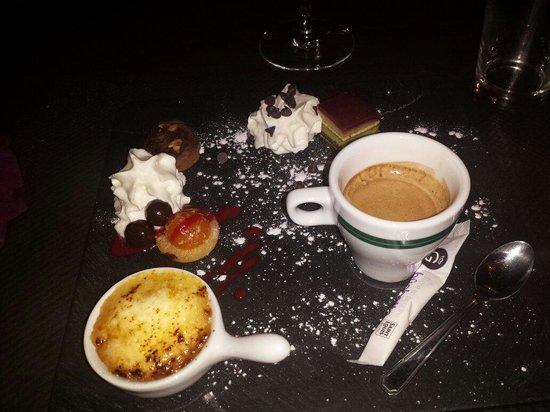 Le Canard Royal : Café gourmand