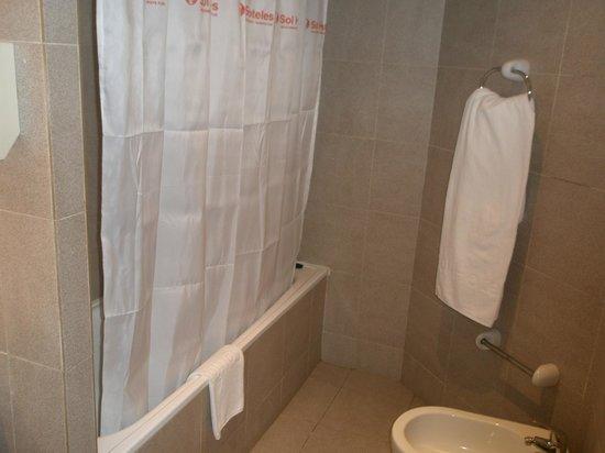Sol La Palma Hotel: esa cortina!!