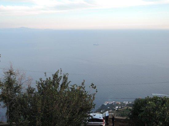 Nido Degli Dei: The view over the Amalfi Coast and the Mediterranean.