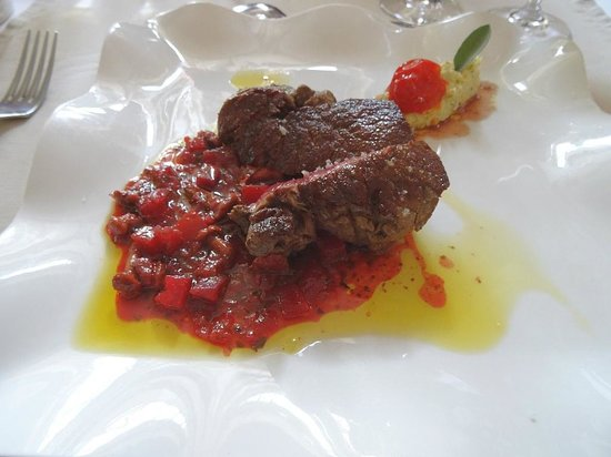 La Bruceliere : Fillet of Beef