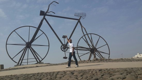 Bicycle Square (Midan Addarajah): Paddling the Bicycle