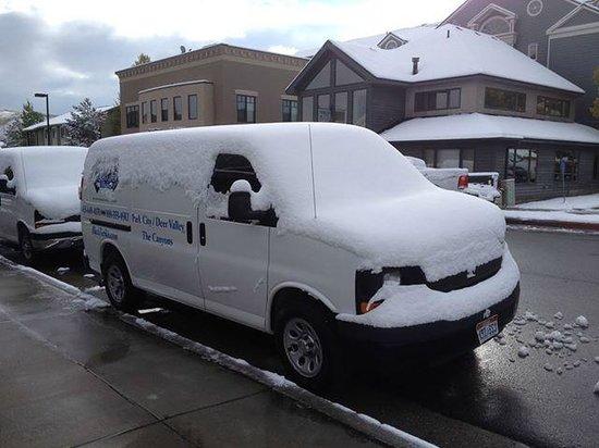 Black Tie Ski Rentals of Park City: Snow in Park City
