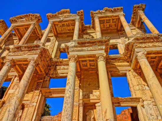 Library at Ephesus - Picture of Ephesus Shuttle Day Tours ...