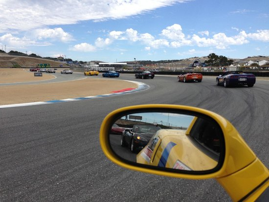 Mazda Raceway Laguna Seca: Natural scenic beauty