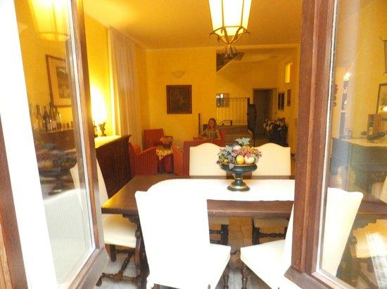 La Valletta Relais: общая гостиная