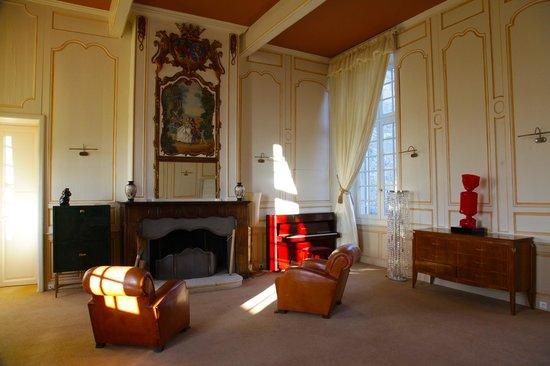 Château de Mazelières : Salon Vivaldi