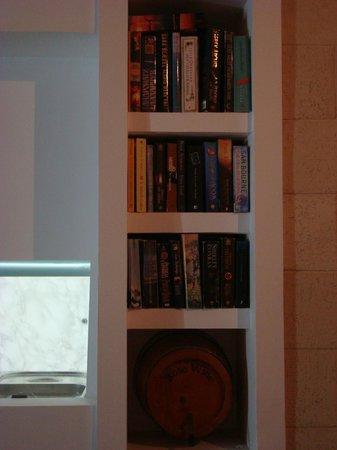 Nautilos Restaurant : BOOKSHELF, change books or take one an enjoy