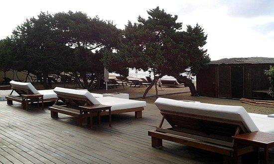 Insotel Hotel Formentera Playa: South beach club,