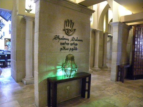 Olive Tree Hotel: Atrio hotel