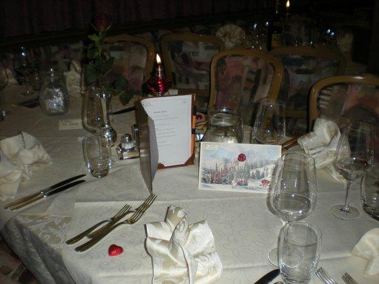 Hotel Arnika Wellness: gedekte tafel