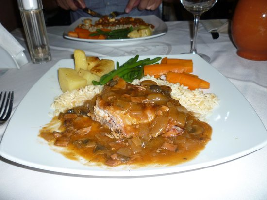 Roulas Restaurant: My meal