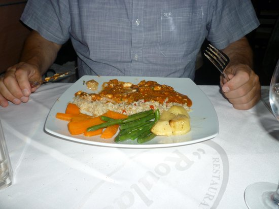 Roulas Restaurant: Peters meal