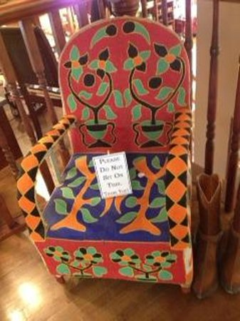 Prairie Edge Trading Co. & Galleries: Beautiful Hand Beaded Chair