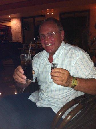 Luxury Bahia Principe Sian Ka'an: Dad with his usuals
