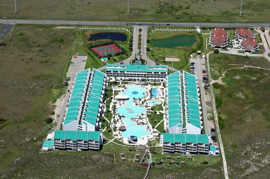 Overview of the property picture of port royal ocean resort conference center port aransas - Centre d imagerie medicale port royal ...