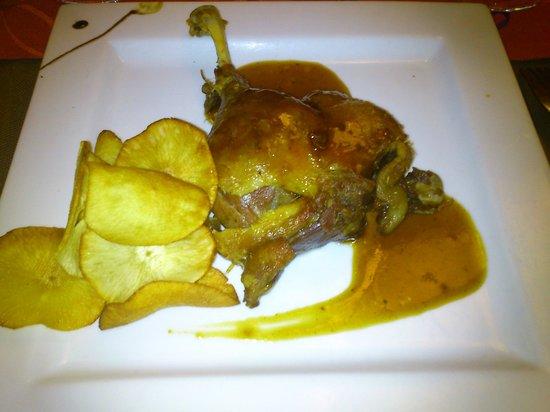 Restaurante Méli-Mélo: Copa de Piña Colada
