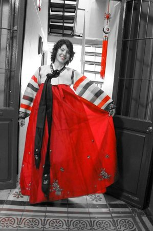Somos Coreanos: vestido tradicional