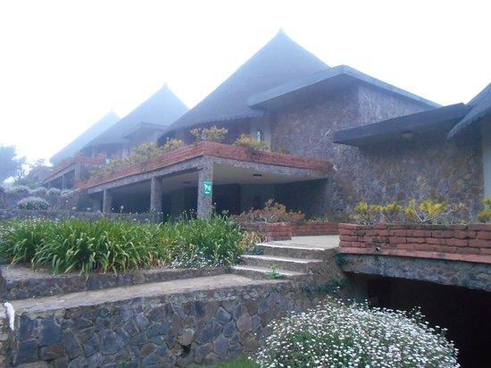 Ngorongoro Sopa Lodge: Vista delle camere