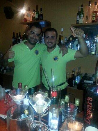 The Alchemist: the staff ...kostas and michaelis