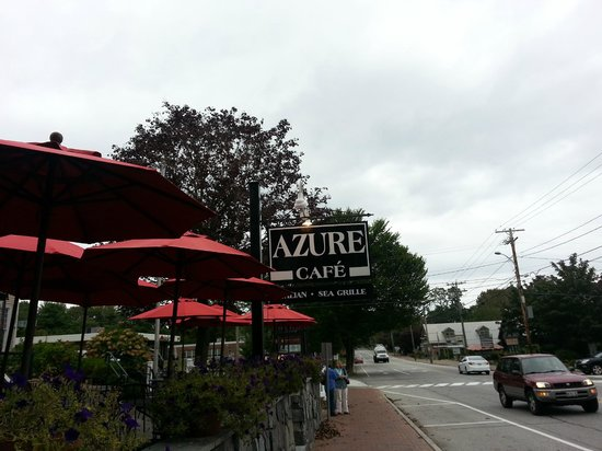 Azure Cafe: Just outside the cafe