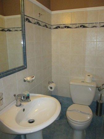 Arion Hotel: Bathroom