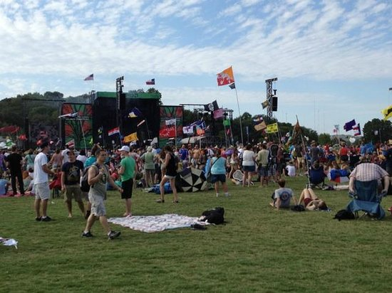 Austin City Limits Live : Festival Flags - find your friends