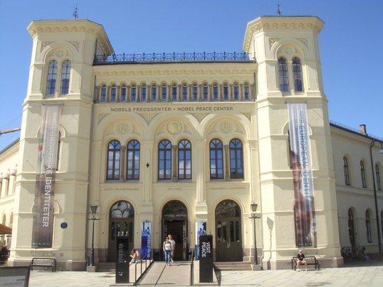 The Nobel Peace Center: Main entrance