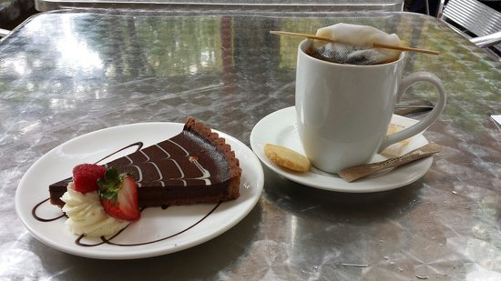 Guglhupf Cafe: Decadent, melt-in-your-mouth Chocolate Torte