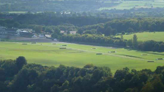 Wye Valley and Forest of Dean: Chepstow racecourse