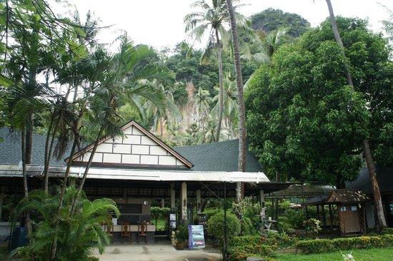 Anyavee Railay Resort: главный вход