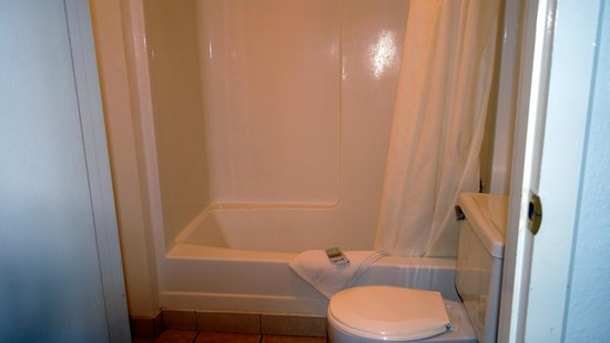 EconoLodge: Bathroom