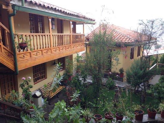 Amaru Colonial : Vista interior del hotel