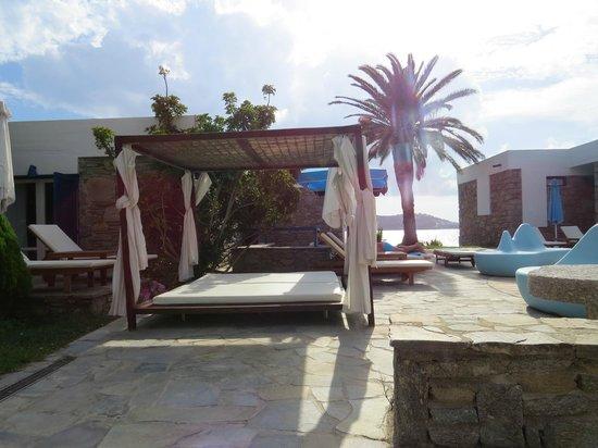 Mykonos Theoxenia : Área da piscina - Relax
