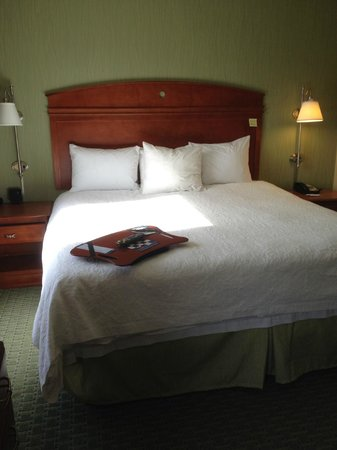 Hampton Inn & Suites New Haven - South - West Haven: King sized bed