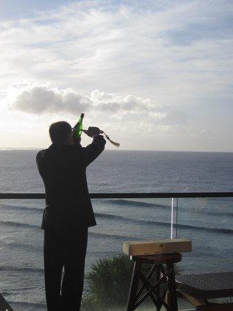 St. Regis Princeville Resort: Sunset Champagne Ceremony