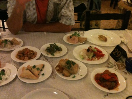 Mantalena: Lovely Meze for two