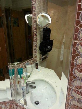 """Aldemar Knossos Royal: """"Clear"""" mirror"""