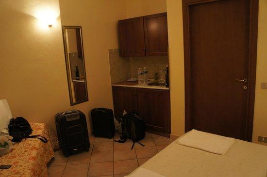 Hotel Villa Pagoda: номер с мини кухней