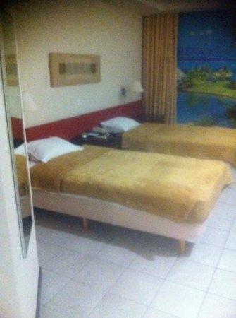 Rio Aeroporto Hotel: chambre twin