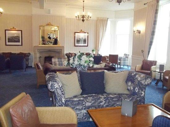The Craiglynne Hotel: Reception area.