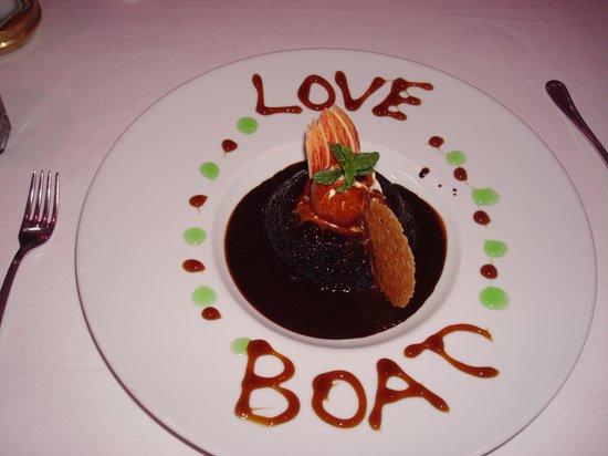The Love Boat: Chocolate brownie