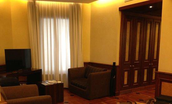 Hotel Raphael: Sitting area