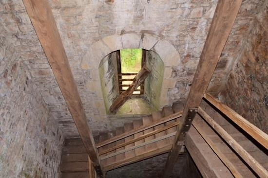 Cranmore Tower: the stairs